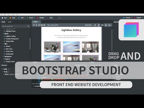 Cara Membuat Website Tanpa Koding | Tutorial Bootstrap Studio Bahasa Indonesia
