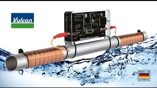 Vulcan - Electronic anti-scale system. The alternative to water softener.