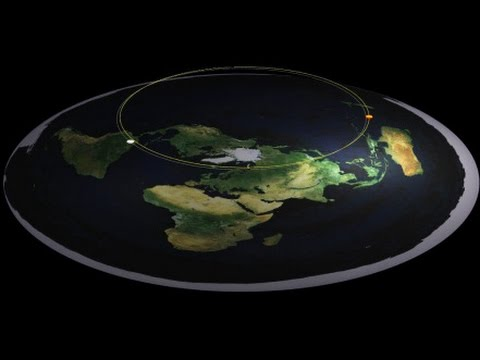 10 Flat Earth Arguments DEBUNKED thumbnail