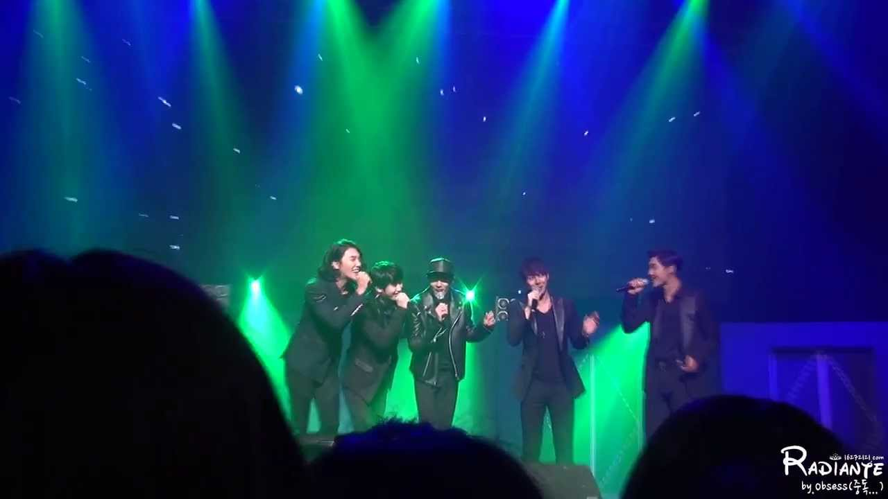 """[Fancam] SS501 """"Green Peas"""" Performance at 0513 HYS My Story Seoul Concert 131026"""