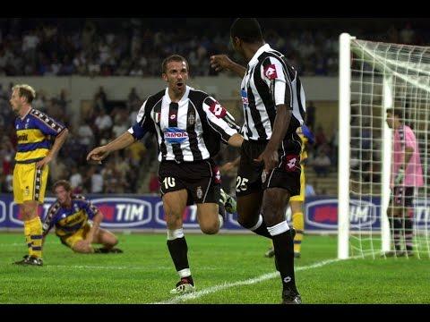 25/08/2002 - Italian Super Cup - Juventus-Parma 2-1