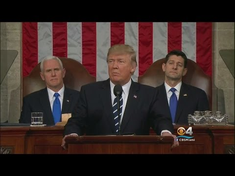 Trump Delivers First Address To Joint Session Of Congress