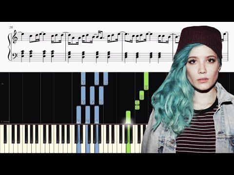 G-Eazy and Halsey - Him & I - Piano Tutorial + SHEETS