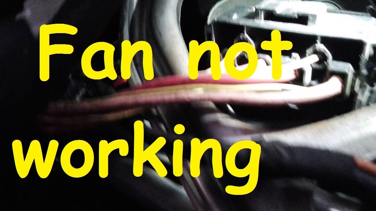 Renault Megane Fan Not Working Heater Blower Problem Youtube Wiring Diagram