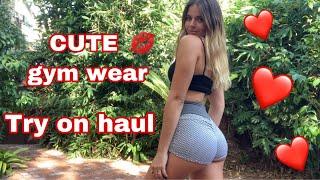My FAVORITE gym leggings & shorts | TRY ON HAUL