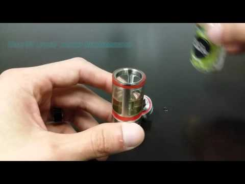 Ceramic Coil Installation process in Subtank by Kanger Presented by Lecig