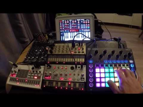 Volca Circuit Sunrizer Poison 202 House Classics Session 2 - 808 State Pacific State