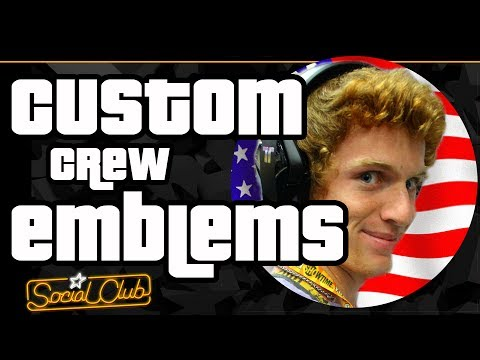 How to Upload a Custom Crew Emblem in GTA 5 Online!