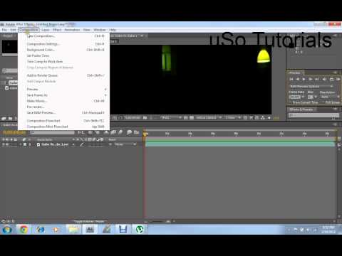 How to Enable sound in Videos on Adobe After Effects CS4