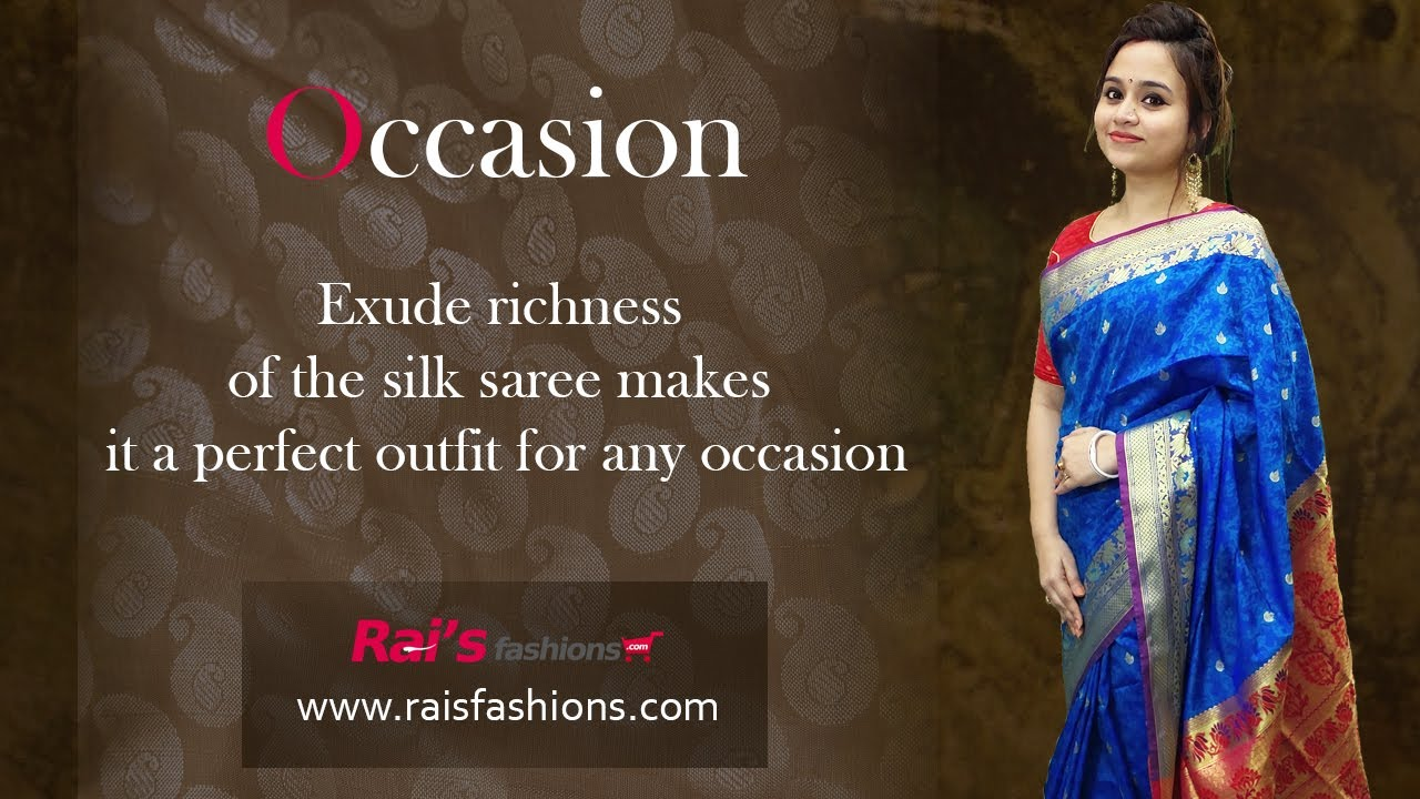 Exude Richness Of The Silk Saree Makes It A Perfect Outfit For Any Occasion (06th August) - 4AU