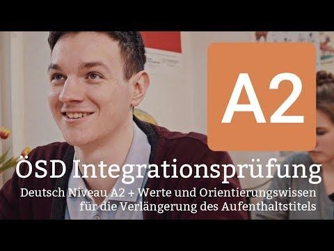 ÖSD Prüfung A2 - Integrationsprüfung