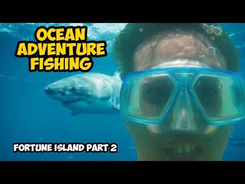 FISHING The Movie | OCEAN ADVENTURE | FORTUNE ISLAND PART 2 | Japer Sniper Official