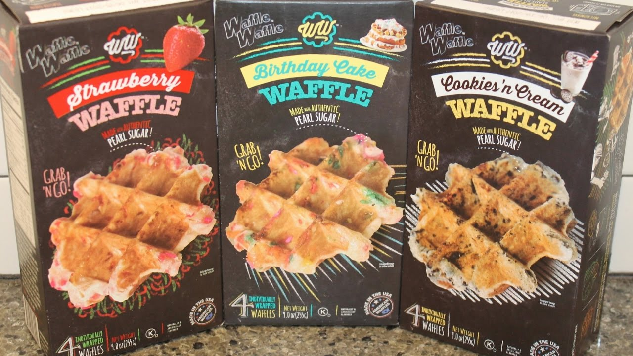 Waffle Strawberry Birthday Cake And Cookies N Cream Review