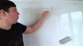 Еще раз деление на косинус в решении уравнений Алгебра 10 класс