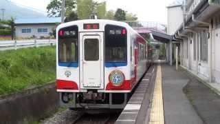 三陸鉄道南リアス線 36-R3形+36-700形205D 吉浜駅発車② 2014年6月22日