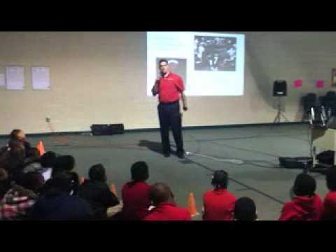 Louie Speaks at Eagle Ridge Elementary School