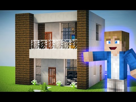 Full download casa moderna de exploration lite minecraft for Casas modernas para minecraft