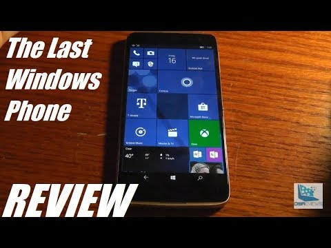 REVIEW: Alcatel Idol 4S (Windows 10) - A Flagship Rival?