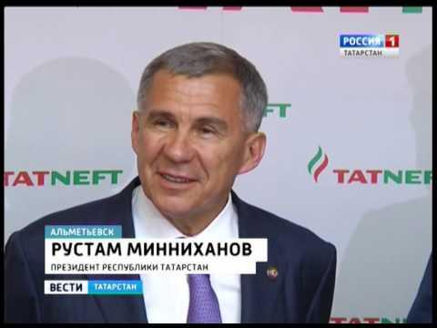Рустам Минниханов с рабочей поездкой посетил Альметьевск