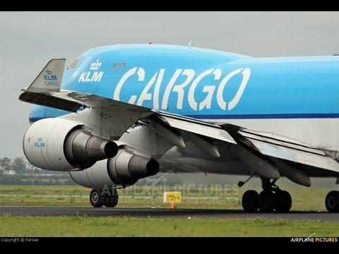 Decolagem em Campinas  Viracopos 747-400F KLM CARGO