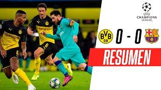 Borussia Dortmund - FC Barcelona [0-0] | RESUMEN | Grupo F | UEFA Champions League