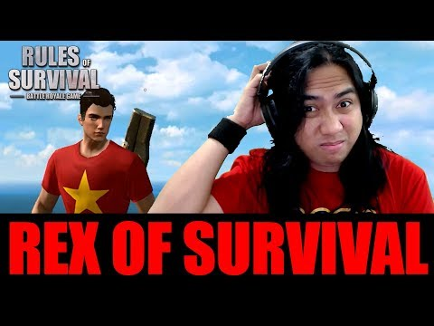 ROS STEAM VERSION - REX OF SURVIVAL with Sir Rex (Rules of Survival Gameplay)