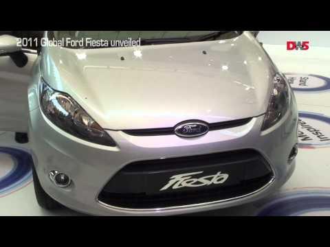 2011 Ford Fiesta sedan unveiling video