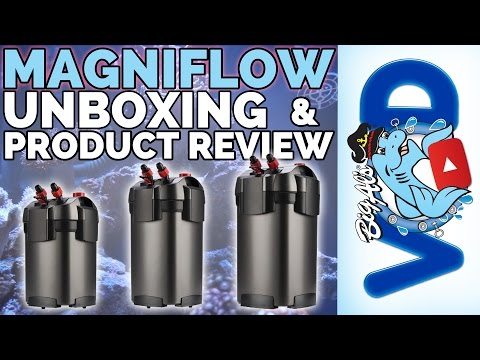 Marineland Magniflow Unboxing & Product Review | Big Al's