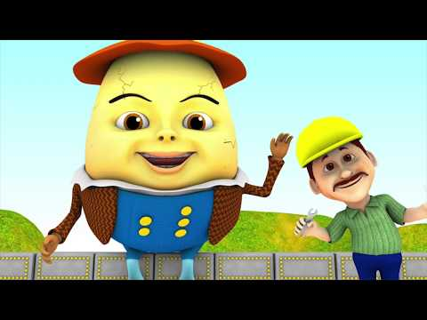 Humpty Dumpty | Kids Song | Kindergarten Nursery Rhymes & Baby Songs by Little Treehouse S03E136