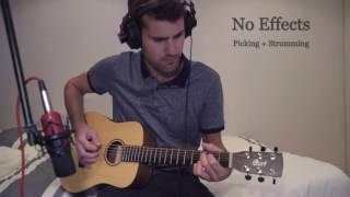 Cort Earth Mini (Travel Guitar): Soundcheck, test
