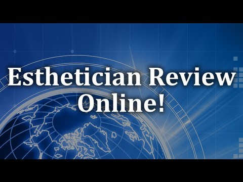Esthetician Training - State Board Written Exam - Sweat Glands Review