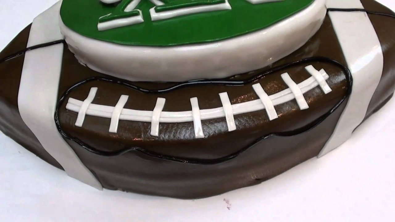The Cake Don The New York Jets Cake Youtube