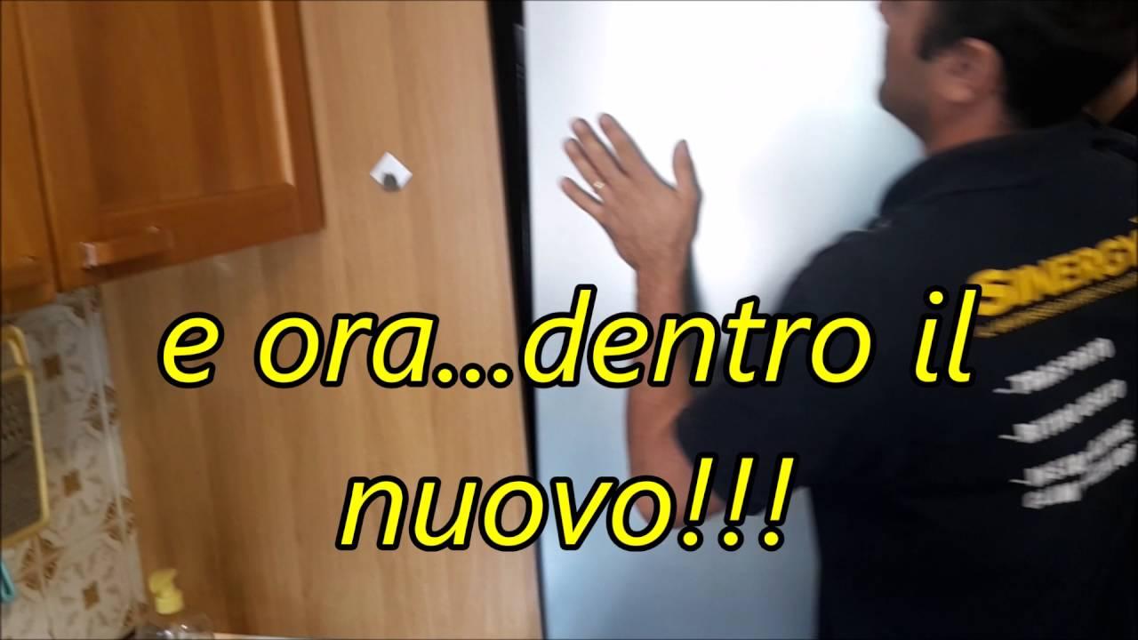 Intallazione FRIGO CONGELATORE da incasso WHIRPOOL classe A++ - YouTube