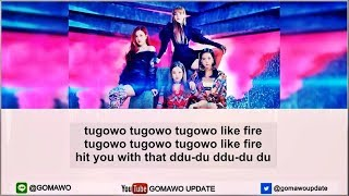 [Karaoke/Instrumental] BLACKPINK - DDU-DU DDU-DU by GOMAWO (Easy Lyric)