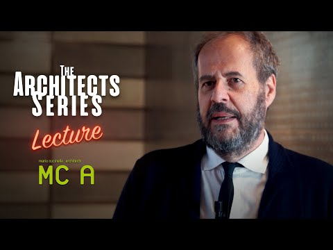 The Architects Series - MC A Architects at SpazioFMG [Vernissage Video]