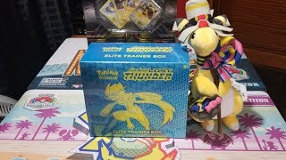 Lost Thunder Elite Trainer Box!