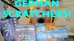 FIRST EVER LOTTERY SCRATCHERS FROM GERMANY!!!