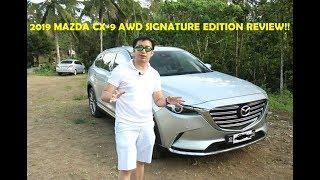 i Review the Mazda CX-9 AWD Signature Edition!!