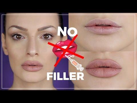 LABBRA CARNOSE SENZA FILLER -  Lip Contouring - MAKEUP HACKS #2