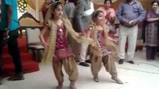 cute punjabans dancing