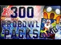 300 NFC Pro bowl Packs| Crazy 10 mill blind packs