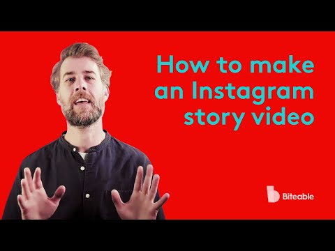 How to make an instagram story video