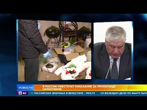 В России ужесточат наказание за пропаганду наркотиков