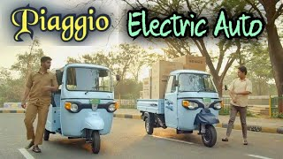 Piaggio Ape Electric Autos in India - Loader and Passenger