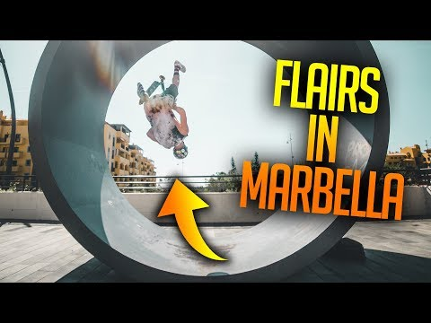 FLAIRS IN MARBELLA ON WEIRD THINGS! *DANGEROUS*