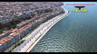 İzmir Konak Karataş Mithatpaşa Sahili Havadan 4k çekim - gsm:05546948194