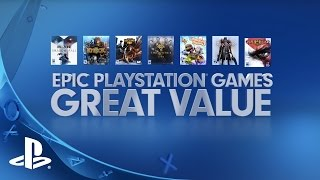 Epic PS4 Games, Great Value!