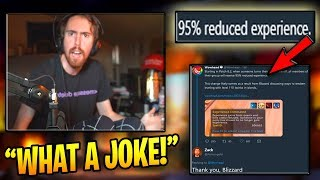 Asmongold Gets PISSED At Blizzard For Newest Update! (WoW Classic Funny Moments #22)