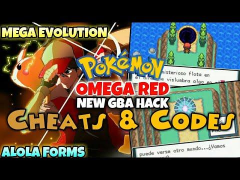 Pokemon mega ruby cheats gba