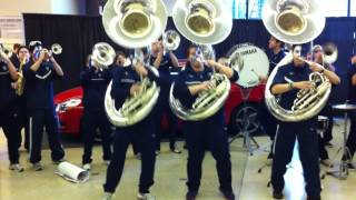 UConn Pep Band at 2011 Big East Championship in NYC - Talkin